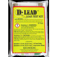 D-LEAD DUST POCKET SIZED LEAD TEST KIT