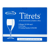 Sulfite Test Kit  Measure Sulfite in Wine  Titrets ® Titration Cells