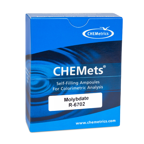 Molybdate  CHEMets® Refill 0-7 ppm & 2-24 ppm as Mo